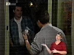 Sam Kratz, Mark Gottlieb in Neighbours Episode 2212