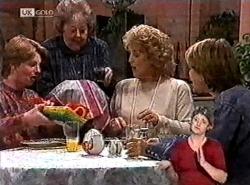 Brett Stark, Marlene Kratz, Cheryl Stark, Danni Stark in Neighbours Episode 2212