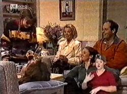 Hannah Martin, Debbie Martin, Helen Daniels, Julie Martin, Philip Martin in Neighbours Episode 2212