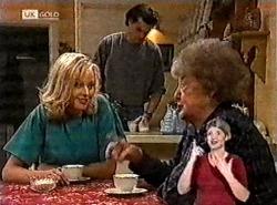 Annalise Hartman, Sam Kratz, Marlene Kratz in Neighbours Episode 2213