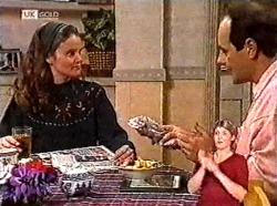 Julie Martin, Philip Martin in Neighbours Episode 2214
