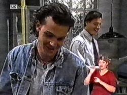 Sam Kratz, Rick Alessi in Neighbours Episode 2214