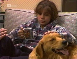 Hannah Martin, Holly in Neighbours Episode 2219