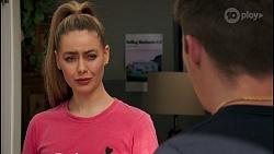 Chloe Brennan, Hendrix Greyson in Neighbours Episode 8657