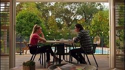 Chloe Brennan, Leo Tanaka in Neighbours Episode 8657