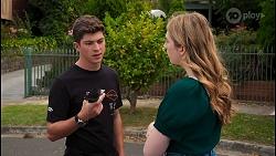 Hendrix Greyson, Mackenzie Hargreaves in Neighbours Episode 8657