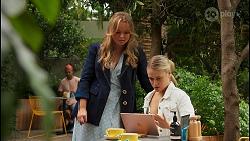 Harlow Robinson, Roxy Willis in Neighbours Episode 8657