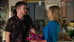 Ned Willis, Amy Greenwood in Neighbours Episode 8658