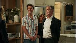 Harlow Robinson, Jesse Porter, Terese Willis, Paul Robinson in Neighbours Episode 8658