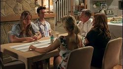 Harlow Robinson, Jesse Porter, Roxy Willis, Paul Robinson, Terese Willis in Neighbours Episode 8658