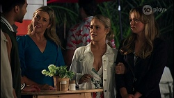 Levi Canning, Amy Greenwood, Roxy Willis, Harlow Robinson in Neighbours Episode 8658