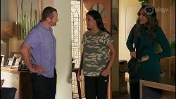 Toadie Rebecchi, Yashvi Rebecchi, Dipi Rebecchi in Neighbours Episode 8659