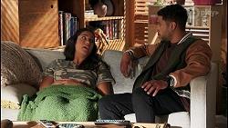 Yashvi Rebecchi, Levi Canning in Neighbours Episode 8659