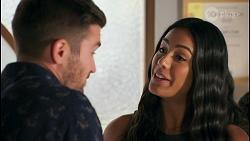 Ned Willis, Yashvi Rebecchi in Neighbours Episode 8660