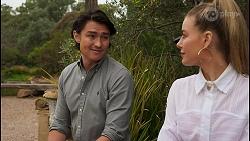 Leo Tanaka, Chloe Brennan in Neighbours Episode 8660