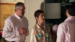 Karl Kennedy, Susan Kennedy, David Tanaka in Neighbours Episode 8661