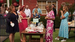 Terese Willis, Nicolette Stone, Karl Kennedy, Roxy Willis, Kyle Canning, Jane Harris, Leo Tanaka, Harlow Robinson in Neighbours Episode 8661