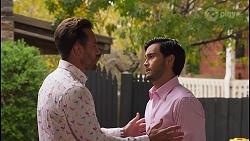 Aaron Brennan, David Tanaka in Neighbours Episode 8661