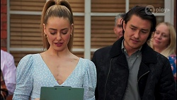Chloe Brennan, Leo Tanaka in Neighbours Episode 8661