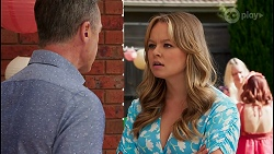 Paul Robinson, Harlow Robinson, Nicolette Stone in Neighbours Episode 8661