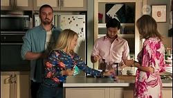 Kyle Canning, Roxy Willis, David Tanaka, Jane Harris in Neighbours Episode 8661