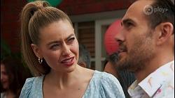 Chloe Brennan, Aaron Brennan in Neighbours Episode 8661