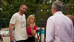 Kyle Canning, Roxy Willis, Karl Kennedy in Neighbours Episode 8661