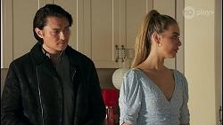 Leo Tanaka, Chloe Brennan in Neighbours Episode 8661