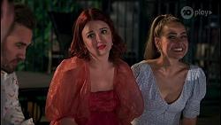 Aaron Brennan, Nicolette Stone, Chloe Brennan in Neighbours Episode 8661