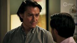 Leo Tanaka, David Tanaka in Neighbours Episode 8661