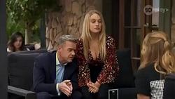 Paul Robinson, Roxy Willis, Harlow Robinson in Neighbours Episode 8662