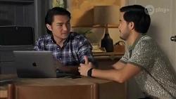 Leo Tanaka, David Tanaka in Neighbours Episode 8662