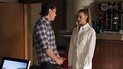 Leo Tanaka, Chloe Brennan in Neighbours Episode 8662