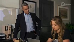 Paul Robinson, Harlow Robinson in Neighbours Episode 8662