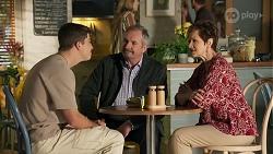 Hendrix Greyson, Karl Kennedy, Susan Kennedy in Neighbours Episode 8663