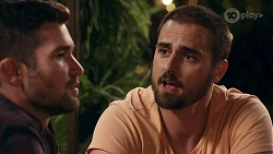 Ned Willis, Kyle Canning in Neighbours Episode 8664