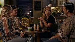 Mackenzie Hargreaves, Hendrix Greyson, Harlow Robinson, Jesse Porter in Neighbours Episode 8664