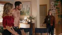 Amy Greenwood, Ned Willis, Roxy Willis in Neighbours Episode 8664