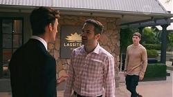 Jesse Porter, Curtis Perkins, Hendrix Greyson in Neighbours Episode 8664
