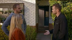 Kyle Canning, Roxy Willis, Ned Willis in Neighbours Episode 8665