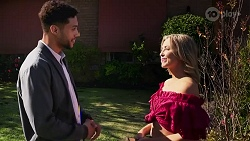 Levi Canning, Amy Greenwood in Neighbours Episode 8665