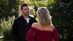 Ned Willis, Amy Greenwood in Neighbours Episode 8665