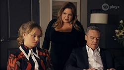 Harlow Robinson, Terese Willis, Paul Robinson in Neighbours Episode 8666