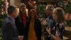 Paul Robinson, Chloe Brennan, Nicolette Stone, Karl Kennedy, Jane Harris in Neighbours Episode 8666