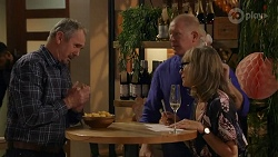 Karl Kennedy, Clive Gibbons, Jane Harris in Neighbours Episode 8666