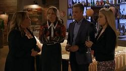 Terese Willis, Harlow Robinson, Paul Robinson, Roxy Willis in Neighbours Episode 8666