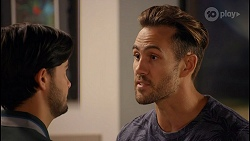 David Tanaka, Aaron Brennan in Neighbours Episode 8667