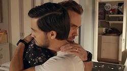 David Tanaka, Aaron Brennan in Neighbours Episode 8668
