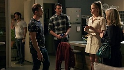 David Tanaka, Aaron Brennan, Leo Tanaka, Chloe Brennan, Jane Harris in Neighbours Episode 8670