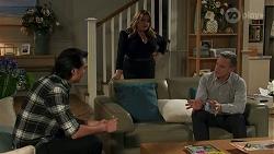 Leo Tanaka, Terese Willis, Paul Robinson in Neighbours Episode 8670